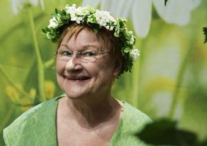 Tarja Halonen blev Finlands första kvinnliga president år2000. Hon sommarpratar i Sveriges Radio den 6 augusti.