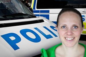 Maria Lundberg, kommunpolis i länet.