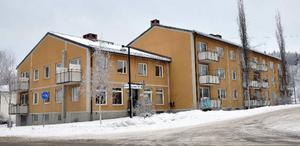 Forsvägen 29 i Bispgården är ett av de hyreshus som Ragunda kommun avser att sälja.Foto: Ingvar Ericsson