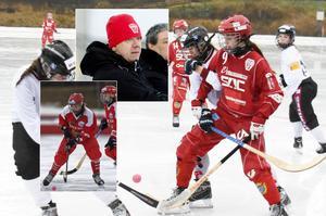 Söråker gick ut med att man värvat ryska Olga Bogdanova (lilla bilden till vänster). Nu berättar klubbens Göran Ålund hur man kunde tappa stjärnan redan innan säsongen börjat. (Arkivbilder)