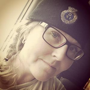 Katarina Norling är stort Gefle IF-fan.