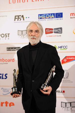Michael Haneke var den stora vinnaren på lördagskvällens filmgala på Malta.