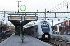 Tåget på bilden avgick för övrigt först kl 11.13.