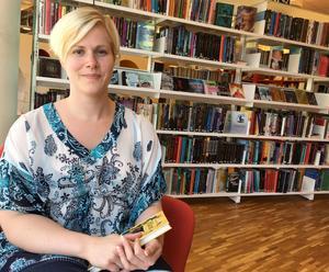 Linnéa Mähle satt ofta på stadsbiblioteket som barn.