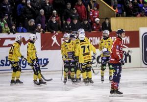 Broberg vann den andra kvartsfinalen mot Edsbyn.