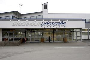 Stockholm-Västerås flygplats.