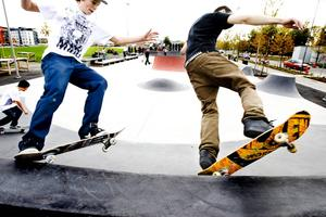 Skateboardparken på Alderholmen byggdes 2008, nu vill Gefle Skateboardsällskap bygga en ny park.