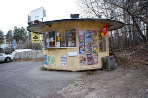 Vad ska hända med runda kiosken på Lustigknopp?