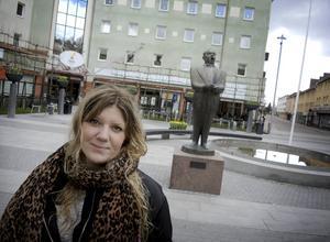 Angelica Andersson är en av de drivande i Dalarna mot rasism.