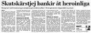 Ur fredagens Gefle Dagblad.