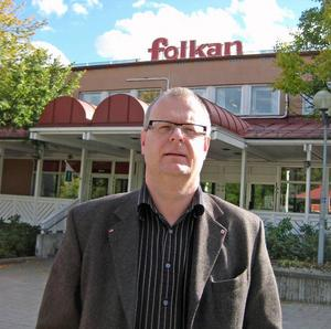 Måns Gustafsson, Folkets hus-chef i Hofors.