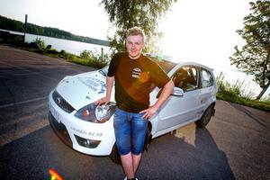 Robin Friberg från Ludvika stod rallysäsongen ut.