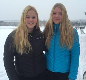Emeli Alkell och Elsa Håkansson-Fermbäck fick det glädjande beskedet att de är uttagna till Ungdoms-OS i Österrike som avgörs i slutet av månaden.