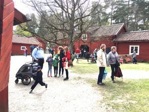 Tusentals människor besökte årets vårfest på Vallby friluftsmuseum.