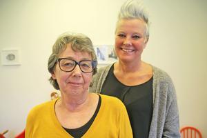 Maggie Grönqvist och Pernilla Sundén är ledare för BIG-grupper.