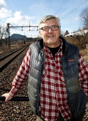 Stiven Wiklund, ordförande för LO-facken i Medelpad.