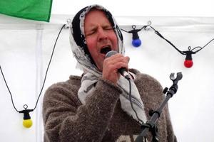 Janne Sandström från Sommarmusik i Frostviken 2013. Han uppträder även i år, som en del av Frostviken All Stars.