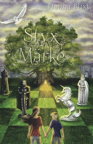 """Styx märke"""" är utgiven på Bornelings förlag och illustrationerna är gjorda av Therése Larsson."""