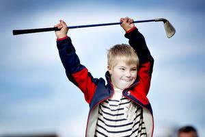 Elliot Karlsson, 9 år, går i tvåan.