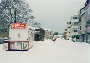 Borggatan i Bollnäs.