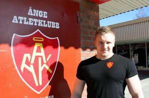 Ånges nya starke man heter Kevin Larsson och kommer från Alby.