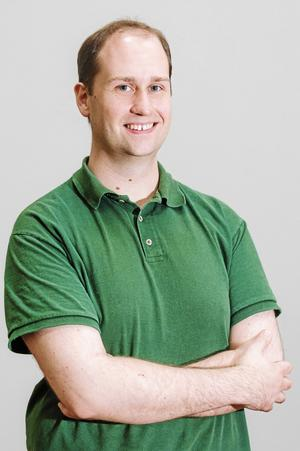 Ian Engblom, Meteorolog Foreca. Fotograf: Pressbild