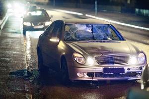 Bilen som körde på 19-åringen den 2 mars i år.