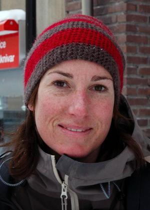 Ingrid  Hedlund, Östersund:– Ja. Jag brukar åka skidor där, främst  alpint.