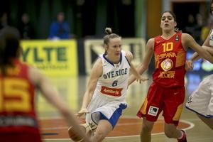 2. Frida Eldebrink, 27 år (2), basket. Sverige gjorde ingen succé i EM i somras, men Frida snittade 18 poäng, 4,5 returer och 3,3 i assister i turneringen. I turkiska ligan var hon sjua i poängligan. Framgångar som gav henne ett kontrakt med ryska storklubben Kursk.