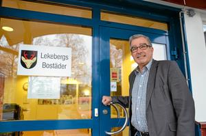 Etta. Sören Skårsjö, vd för Lekebergsbostäder AB, blir först i Örebro län med en tillgänglighetsplan.