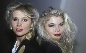 Lili & Susie när det verkligen begav sig. Året var 1989. Foto: Janerik Henriksson / SCANPIX /