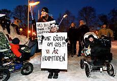 Protester mot forseningar