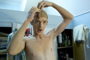 Christian Andersson förbereder sig för sin roll.