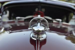 Krom. Kylarprydnad, Chevrolet Fleetline 1948.