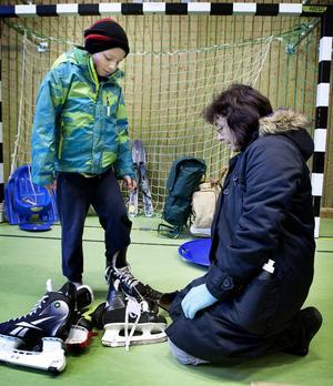 Är det något par som passar? funderade Jean och Julia Tredoux från Björsjö.