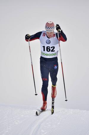 Jens Burman, Åsarna, fick chansen i världscupen i Ruka. I helgen tävlar han i Skandinaviska cupen.
