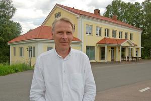 –Vi ska använda huset på ett för kommunen bra sätt, säger Per Dahlkvist.
