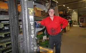 Nils-Erik Börjesson har varit anställd på samma arbetsplats i över ett halvt sekel. Den här veckan gjorde han sitt sista arbetspass. FOTO: LEIF OLSSON