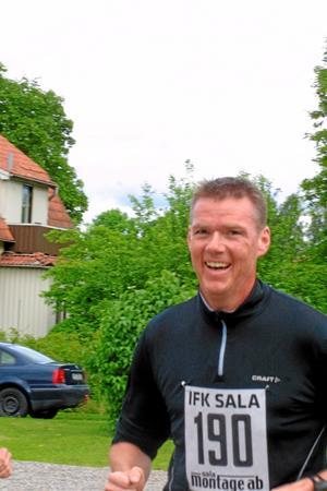 Tony Bertilsson, Sala, sprang milen.
