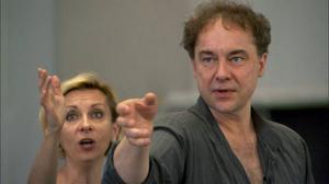 Sopranen Natalie Dessay och regissören Jean-François Sivadier tar ut riktningen för Violetta i dokumentären