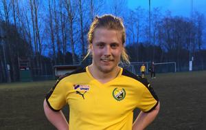 Linus Larsson – premiärmatchhjälte för Hille.