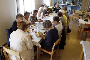 15 damer anmälde sig till första träffen, som ägde rum på Falamål i Färila.