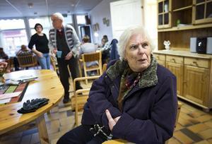 """Nej till vaccinering. """"Jag mådde så dåligt av vaccinet"""", säger Elsie Griph. Men hon är ändå orolig att få årets influensa."""