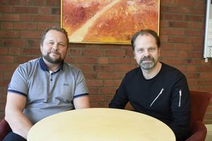 Tommy Gustafsson och Patrik Frisk äger EQ House tillsammans med ytterligare två kompanjoner.