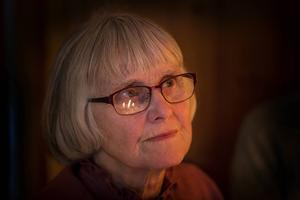 Märta Svedberg gillar att skriva och delade gärna med sig av sina dikter i Kursboken.