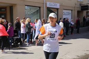 Agneta Broome´var snabbaste dam med sina 26 varv.