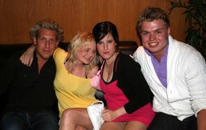 Pluto. Andreas, Natalie, Janina och Daniel