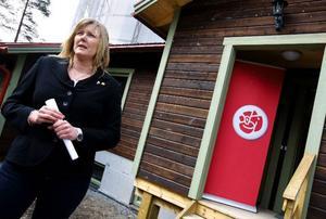 """""""Till och med regeringen säger att många unga människor riskerar att aldrig komma ut på arbetsmarknaden"""", säger riksdagsledamoten Marie Nordén. Foto: Håkan Luthmanw"""