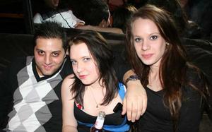 Konrad. Yali, Sara och Mikaela