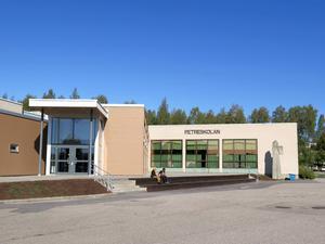 Petreskolan är en av skolorna i Hofors, som är topp tio bästa skolkommunen i landet. Foto: Jonas Harrysson